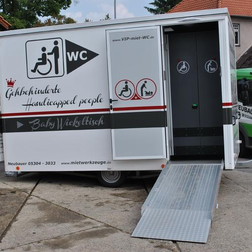Mobile Sanitäranlagen